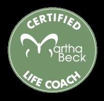 Certified Martha Beck Life Coach