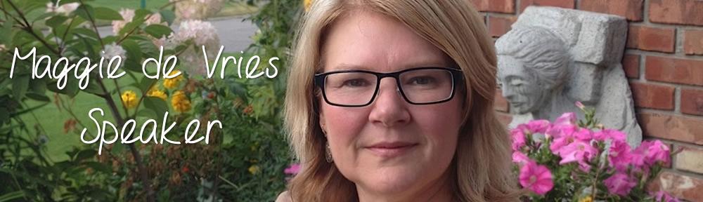 Maggie de Vries Speaker