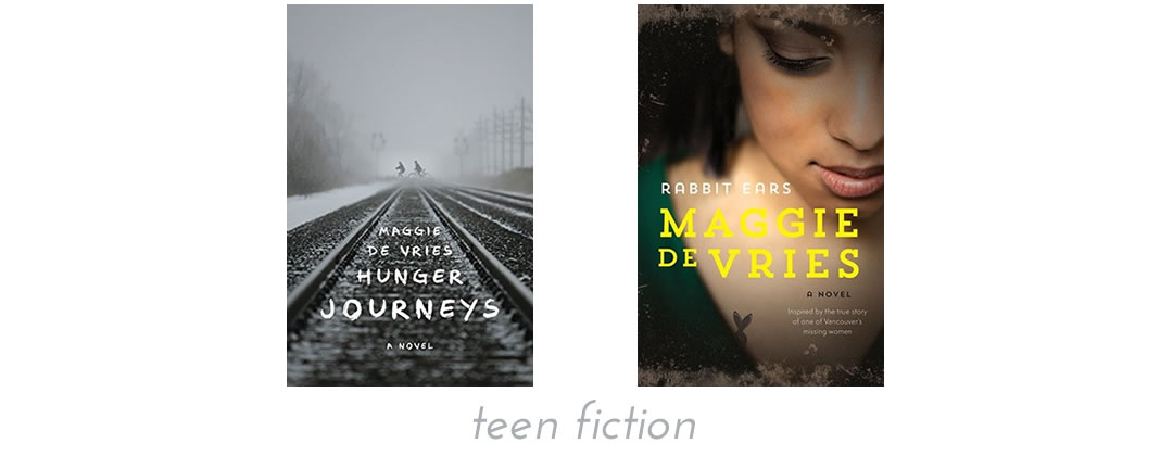 teen fiction by Maggie de Vries